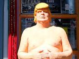 El último Trump desnudo será subastado, ¿quién da más?
