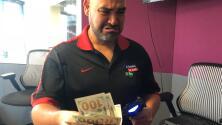 Que no se entere 'La Sargento': mira cómo el Pelón perdió $500
