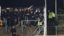 Treinta heridos tras trifulca entre aficionados en Alemania