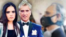 Así fue la boda de Camila, la hija de Alejandro Fernández: 'El Potrillo' se puso el tapabocas para entregarla