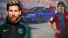 Los carros de lujo que Leo Messi condujo como jugador estrella del Barcelona