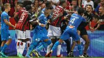 Restan puntos al Niza tras la pelea de sus fans ante el Marsella