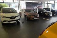 A photo shows cars in a Renault-Dacia dealership in Vitry-Sur-Seine, near Paris, on November 23, 2020. - Dealerships wait for the sales to resume as showroom are closed during the lockdown in France aimed at curbing the spread of the Covid-19 pandemic caused by the novel coronavirus. (Photo by ERIC PIERMONT / AFP) (Photo by ERIC PIERMONT/AFP via Getty Images)
