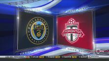 Toronto FC dejó escapar el triunfo ante Philadelphia Union