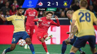 Brenden Aaronson da la victoria con gol al Salzburg en Champions