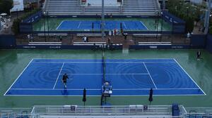 Fuertes tormentas afectaron tercera jornada del US Open en New York