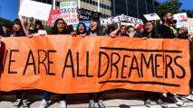 """""""Tenemos mucha fe"""": dreamers en Dallas celebran la victoria de Joe Biden sobre Trump"""