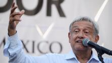 """López Obrador sobre muro fronterizo: """"No nos vamos a pelear con el presidente Donald Trump"""""""
