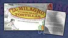 Escasez de tortillas destapa escándalo en la compañía 'El Milagro'