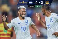 ¡'Oso' y goleada de antología! Honduras masacra 4-0 a Granada