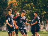 Mexicanos Manuel Aguilar y Lennyn Carreón entrenan con el Bayern Múnich