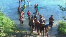 Continúa la crisis humanitaria en la frontera ante la presencia de miles de migrantes haitianos