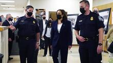 Así fue la primera visita de Kamala Harris como vicepresidenta a la frontera de El Paso, Texas