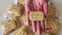 Esta joven hornea galletas para pedir la renuncia de Bolsonaro