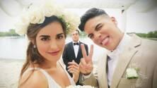 En secreto, Anthony y Laura se casaron a un mes de convertirse en novios en el show