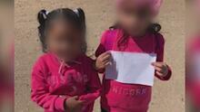 """""""Las madres de estas criaturas deben estar rezando"""", equipo de Univision encuentra dos menores no acompañadas en la frontera"""