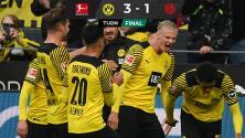 Haaland se enciende con doblete ante el Mainz antes de la Champions
