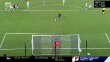 Nani falla una pena máxima y se pierde el gol del empate