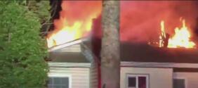 Cuatro personas se quedan sin hogar tras un voraz incendio