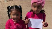 Encuentran a otras cuatro niñas abandonadas el mismo día en la frontera sur