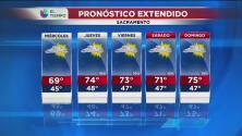 Sacramento tendrá un miércoles soleado y fresco