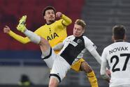 Con goles de Son, Bale, Moura y Vinícius, Tottenham golea al Wolfsberg