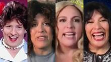 'Yurisleivy', 'La Pau' y 'La Guzmán' se colaron en la entrevista de Angélica Vale por culpa de Doña Meche