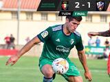 El Huesca de Ignacio Ambríz pierde por 2-1 ante el Osasuna en juego amistoso