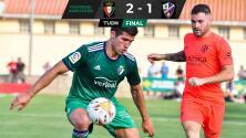 El Huesca de Ignacio Ambríz pierde por 2-1 ante el Osasuna