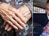 Anciana evita asalto golpeando con su puño a presunto ladrón en la cara