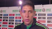 """Edson Álvarez en el Tri: """"Fueron pocos entrenamientos, me costó entender los movimientos"""""""