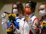 Tokyo 2020 entrega su primera medalla de oro en rifle de aire