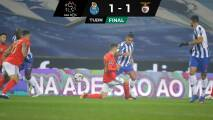 Tecatito dio excelente asistencia en empate de Porto con Benfica