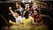 El mejor XI del futbol con Pelé, Messi, CR7, Maradona y demás