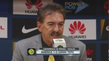 """Ricardo La Volpe: """"Juego feo, pero sigo invicto en el estadio Azteca"""""""