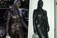 """""""Esto es muy Kanye West"""": Kim Kardashian causa revuelo con este extraño look en Nueva York"""