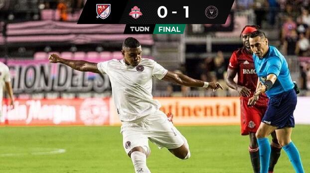 Sobre el final, Inter Miami obtiene victoria ante Toronto FC