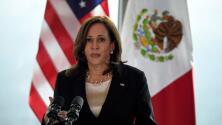 Una confusión hace pasar a una mujer como periodista de Univision en la rueda de prensa de Kamala Harris en México