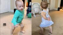 Bebé de Nueva York sorprende en TikTok con su forma de bailar