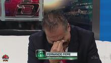 ¡Porque recordar es vivir! Fernando Fiore no pudo contener las lágrimas en República Deportiva