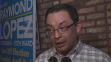 Raymond López logró mantenerse como concejal en el distrito 15 de Chicago