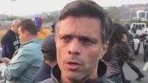 """""""He recibido un indulto al igual que todos los presos militares y civiles"""": Leopoldo López tras su liberación"""