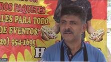 """Hispano con entusiasmo sale a trabajar en """"Labor Day"""""""