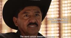 Los Santa Cruz pelean contra el cáncer de Don José