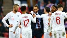 Southgate defendió a sus jugadores que fallaron penales ante Italia