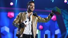 Maluma venció a J Balvin al ganar como 'Mejor Fashionista' en Premios Juventud