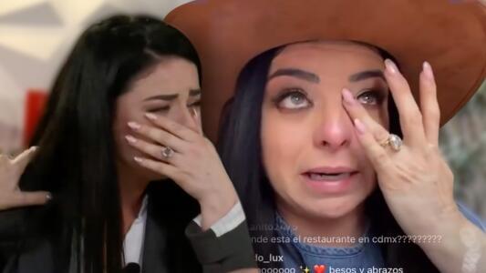 Violeta Isfel confiesa entre lágrimas que tomará terapia para volver a aceptarse frente al espejo