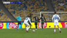 ¡Gol del Dynamo Kiev! Popov puso el 1-0 ante el Ferencvaros