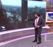 Insólito momento: Albert Martínez reacciona al ver 'un bicho' en la pantalla mientras daba el estado del tiempo