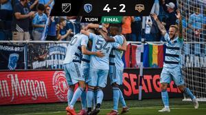 Con Pulido, Sporting KC logró sufrido triunfo ante Houston Dynamo